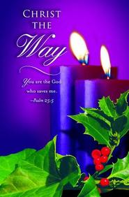 Advent Purple Sunday 2 Bulletin 2012, Regular (Package of 50)