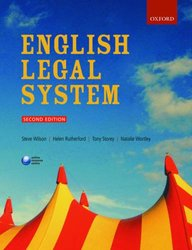 English Legal System, 2nd Ed.