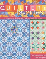Quilters Favorites Vol 1 Traditional Pieced & Appliqued