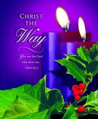 Advent Purple Sunday 2 Bulletin 2012, Large (Package of 50)