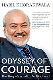 Odyssey Of Courage : The Story Of An Indian Multinational