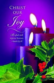Advent Purple Sunday 3 Bulletin 2012, Regular (Package of 50)