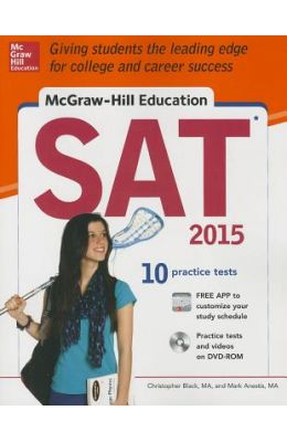 McGraw-Hill Education SAT [With DVD ROM]