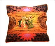 Eco Corner Indian King and Queen Cushion Cover