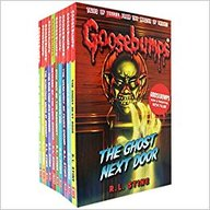 Goosebumps Scare Yourself Silly Set Of 10 Books