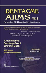 Dentacme Aiims Mds November 2014 Examination Supplement