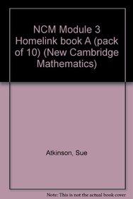 NCM Module 3 Homelink book A (pack of 10) (New Cambridge Mathematics)
