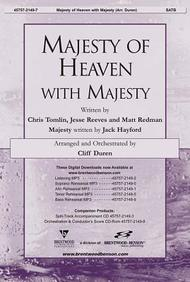 Majesty of Heaven with Majesty- SATB
