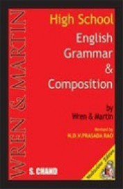 Wren And Martin High School English Grammar Book With Key