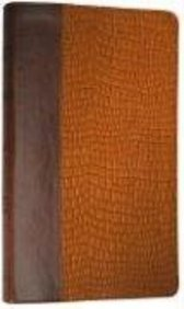 Esv Thinline Bible (Trutone, Brown/Tan, Gator Design)