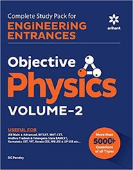 Objective Physics Vol 2 Complete Study Pack For Engineering Entrances : Code B123