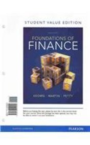 Foundations of Finance, Student Value Edition with Student Access Code