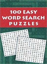 100 Easy Word Search Puzzles