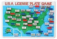 U. S. A. License Plate Game
