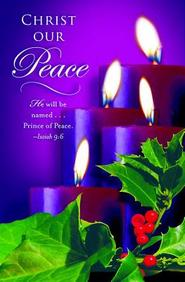 Advent Purple Sunday 4 Bulletin 2012, Regular (Package of 50)