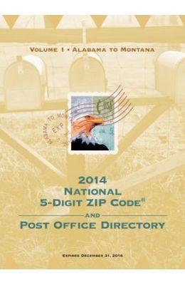 2014 National Zip Code Directory