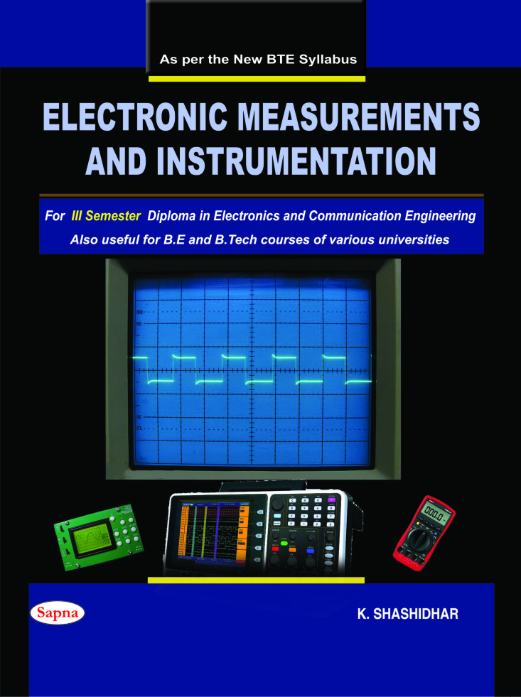 Electronic Measurements & Instrumentation For 3 Sem Diploma In Electronics & Communication
