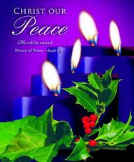 Advent Purple Sunday 4 Bulletin 2012, Large (Package of 50)