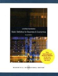 Basic Statistics For Business & Economics