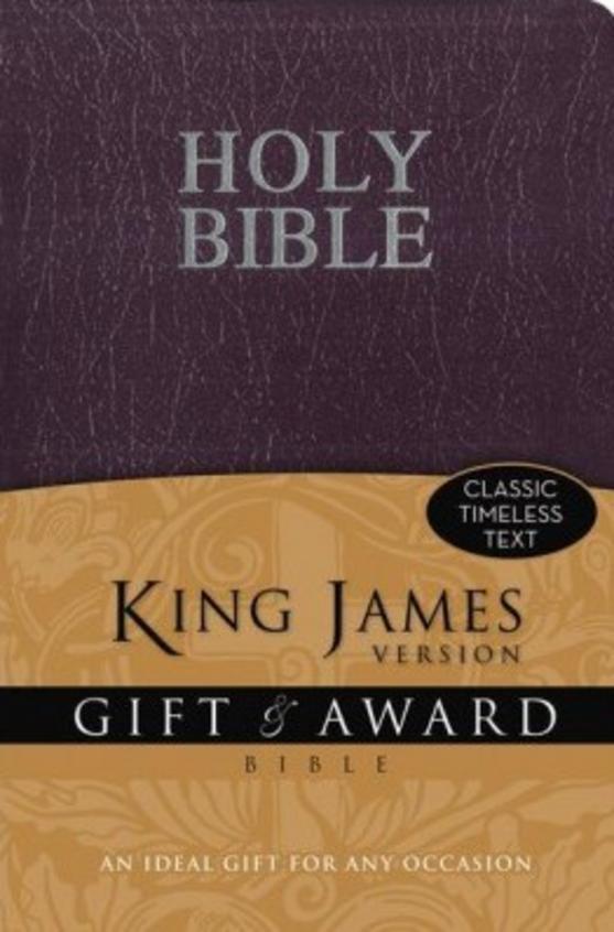 Gift & Award Bible Kjv