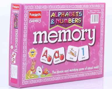 Funskool Alphabets and Numbers Memory 9930100