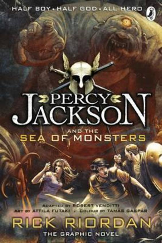 Percy Jackson & The Sea Of Monsters : The Graphic Novel Book 2