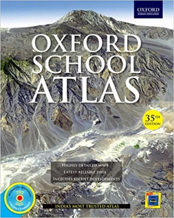 Oxford School Atlas W/Cd