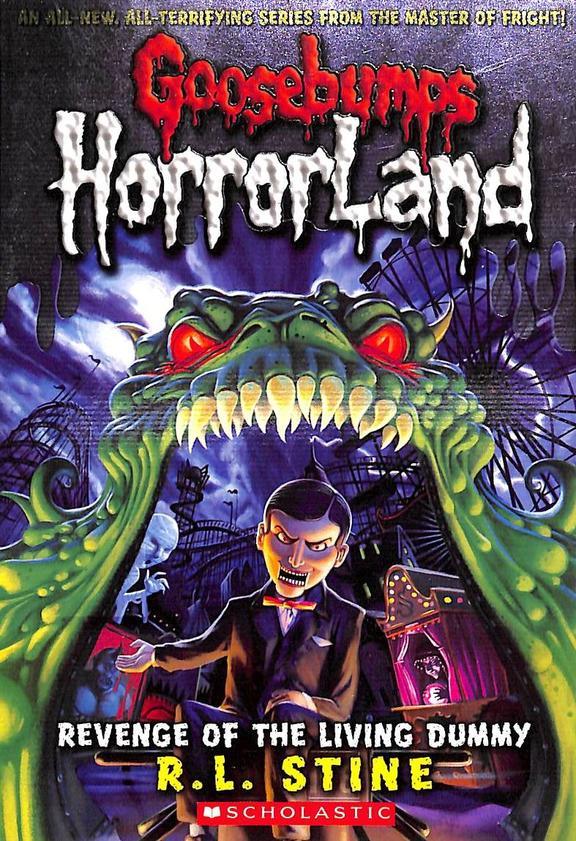 Horrorland Revenge Of The Living Dummy 1 - Goosebumps