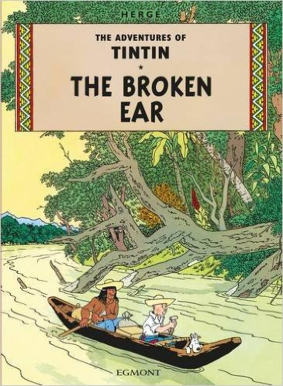 Adventures Of Tintin The Broken  Ear