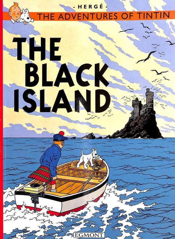 Adventures Of Tintin The Black Island
