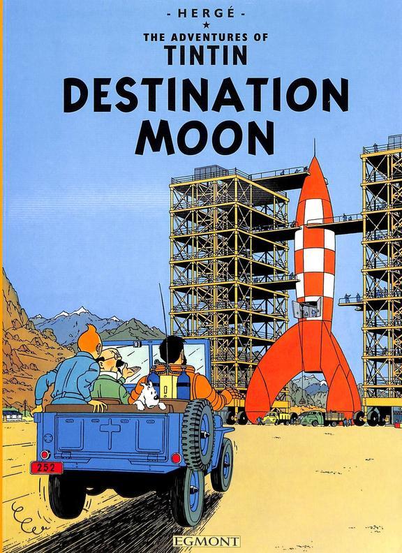 Adventures Of Tintin Destination Moon
