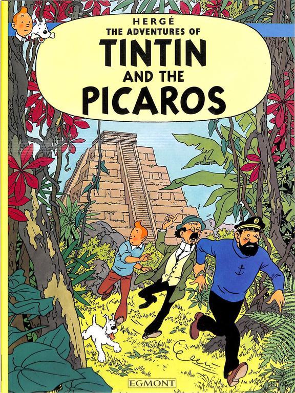 Adventures Of Tintin Picaros