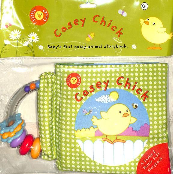 Casey Cjhick 0+ : Babys First Noisy Animal Story  Book