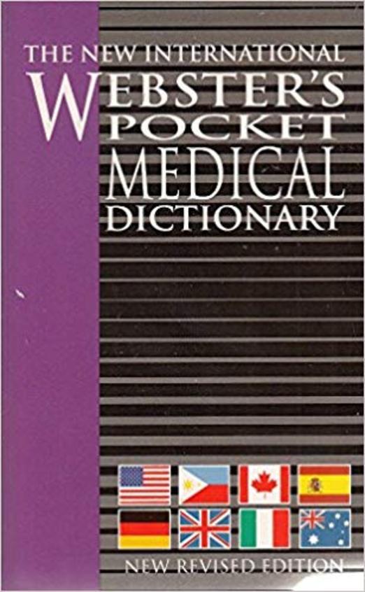 New International Websters Pocket Medical Dictionary
