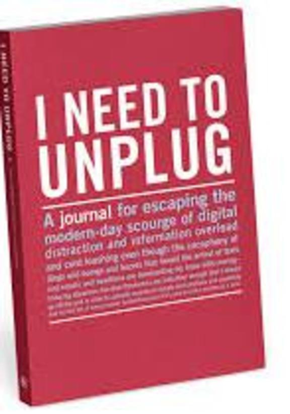 Knock Knock Mini I Need to Unplug Journal