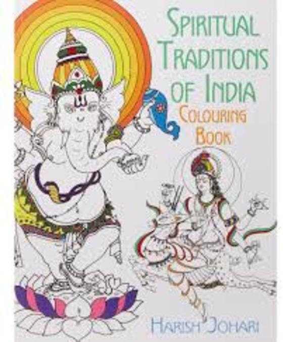 Spiritual Traditions Of India Colouring Book