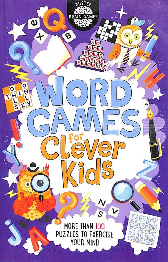 Word Games For Clever Kids : Buster Brain Games
