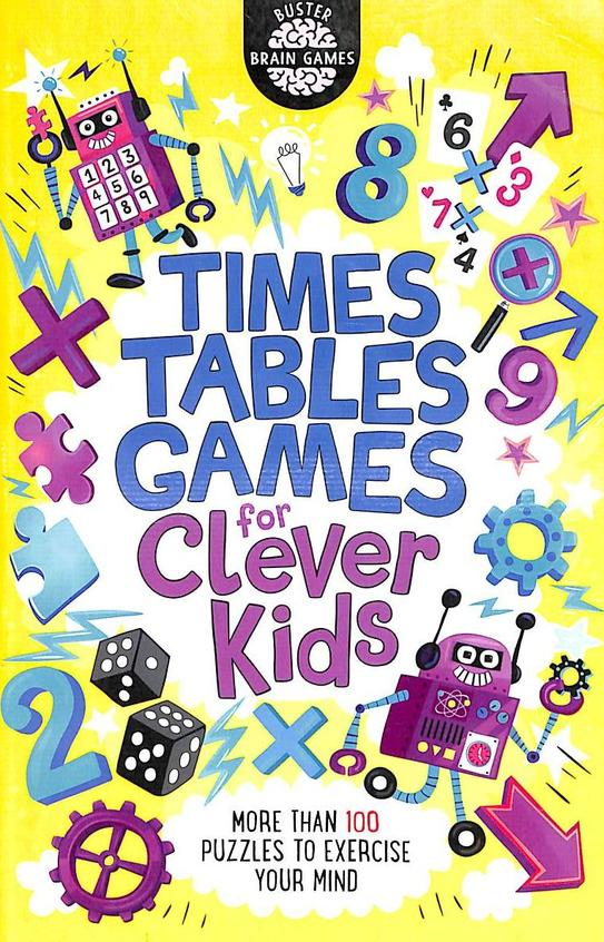 Times Tables Games For Clever Kids : Buster Brain Games