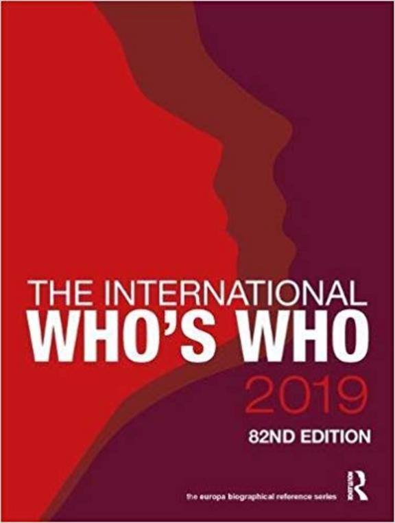 International Who'S Who 2019