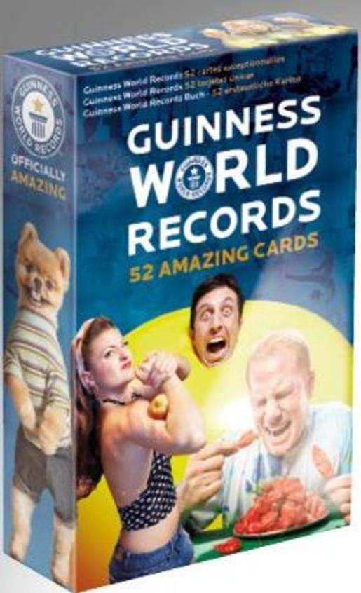 52 Guinness World Records Cards (2016)