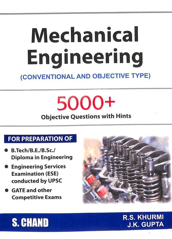 Mechanical Engineering Conventional & Objective Type