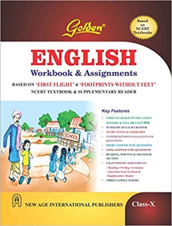 Golden Workbook & Assignments English  Ncert Class 10