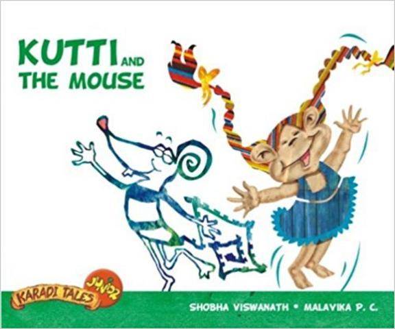 Kutti & Mouse - Karadi Tales Junior W/Cd
