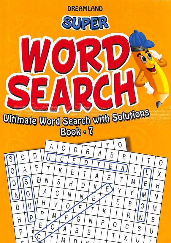 Super  Word  Search  Ultimate Word  Search With Solutions  Book  7
