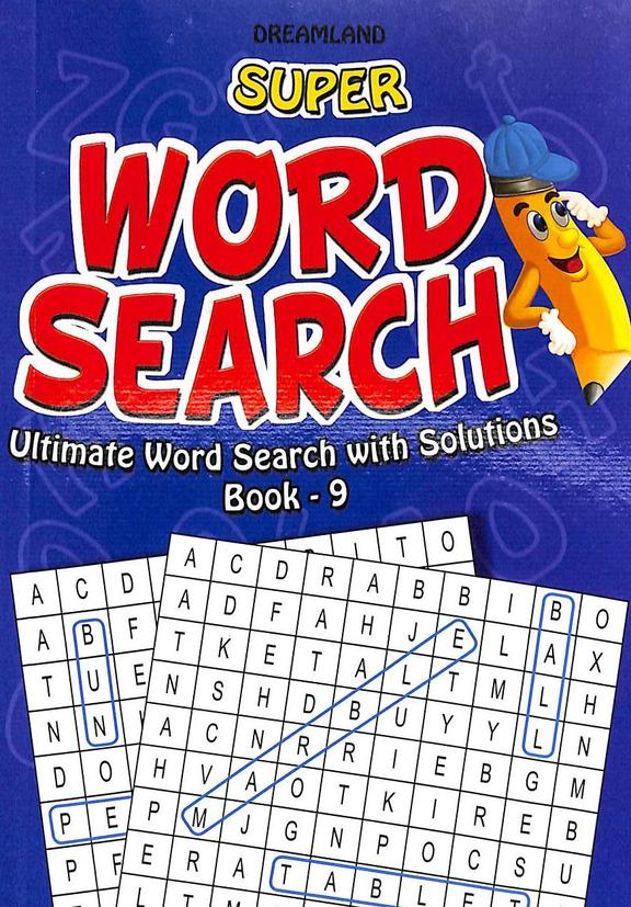 Super Word Search Ultimate Word Search With Solutions Book 9