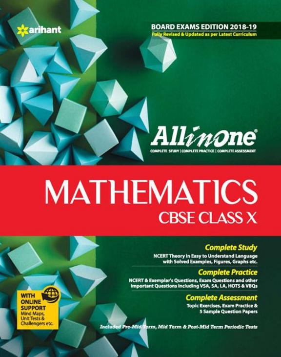 All In One Mathematics Class 10 : Cbse Code F496