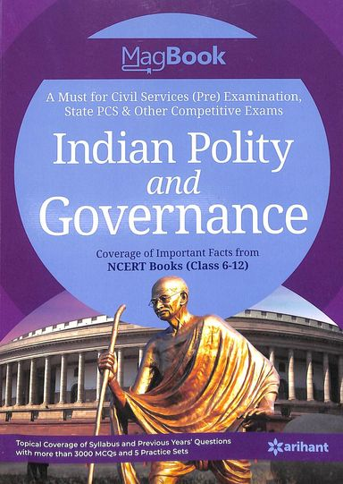 Magbook Indian Polity & Governance For Civil Services Pre Examination : Code J359