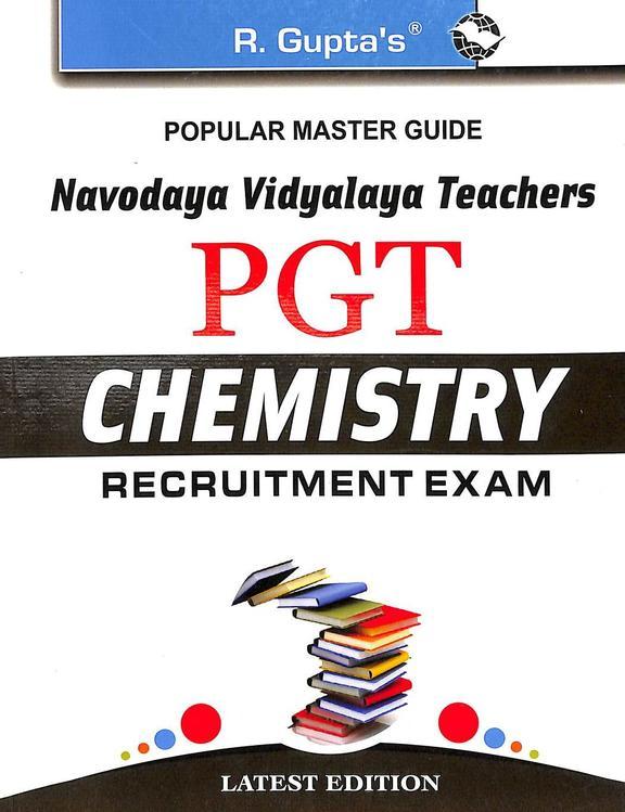 Navodaya Vidyalaya Teachers Pgt Chemistry Recruitment Exam : Code R-1688