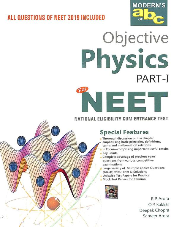 Moderns Abc Of Objective Physics For Neet All Questions Of Neet 2019  Included Set Of 2 Vols
