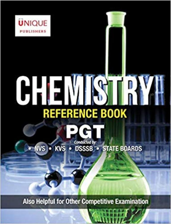 Chemistry Reference Book Pgt